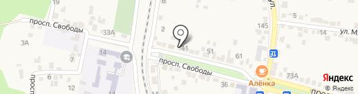 Пчеловод на карте Железноводска