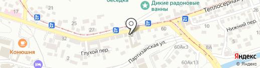 Центр детского и юношеского туризма и экскурсий на карте Пятигорска