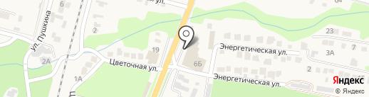 Сеть гипермаркетов эконом-класса на карте Железноводска