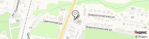 Вершина на карте Железноводска