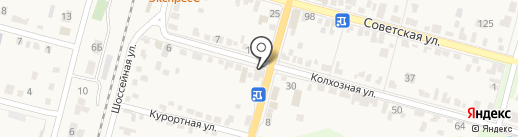 Окна БЕРТА на карте Железноводска