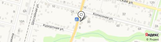 Крепеж на карте Железноводска