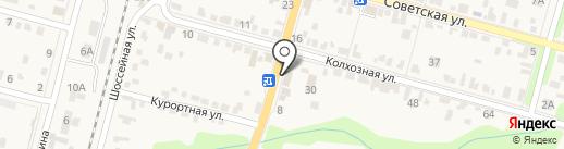 Monroe на карте Железноводска