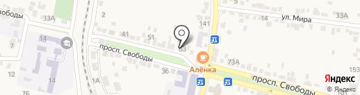 Детская художественная школа им. Н.С. Качинского на карте Железноводска