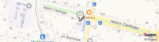 СГПИ на карте Железноводска