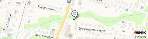 Ставропольский учебный центр на карте Железноводска