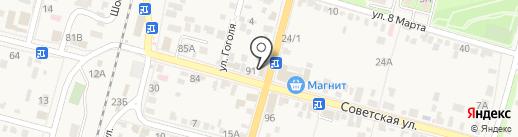 ГОРЯЧИЕ ТУРЫ на карте Железноводска