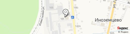 Кавигрис на карте Железноводска