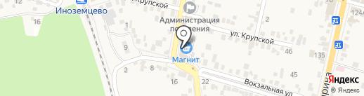 Магнит на карте Железноводска
