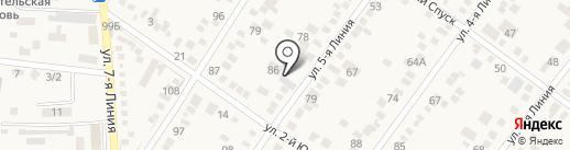 Камелия на карте Горячеводского