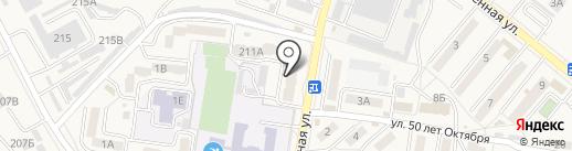 Стоматологическая поликлиника на карте Железноводска