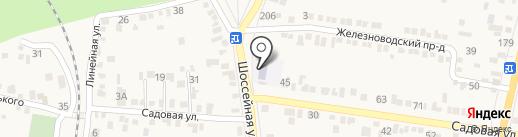 Детский сад №16 на карте Железноводска