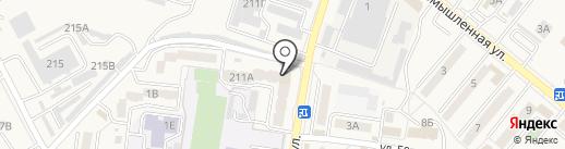 Краснов С.А. на карте Железноводска