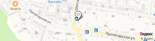 Хуторок на карте Железноводска
