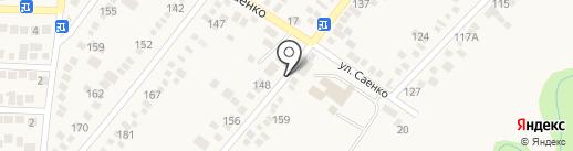 Библиотека №12 на карте Горячеводского