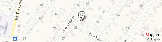 Елена на карте Горячеводского
