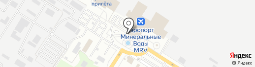 Линейный отдел полиции аэропорта Минеральные Воды на карте Минеральных Вод