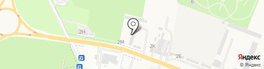 Симфония Камня на карте Железноводска