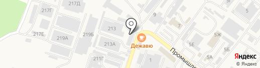 Магазин автотоваров на карте Железноводска