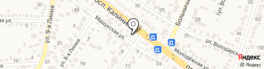 КМВКровля на карте Пятигорска