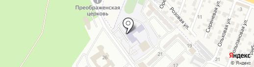 Средняя общеобразовательная школа №28 на карте Пятигорска