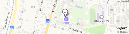 Почтовое отделение №1 на карте Железноводска