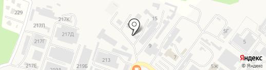 Сфера-95 на карте Железноводска