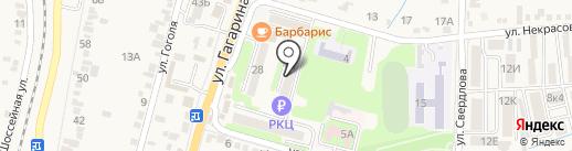 Расчетно-информационный центр на карте Железноводска