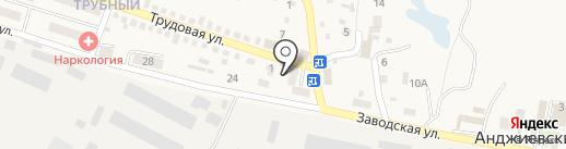 Строящиеся объекты на карте Анджиевского