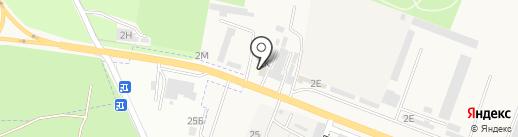 Автозапчасти для грузовых автомобилей на карте Железноводска