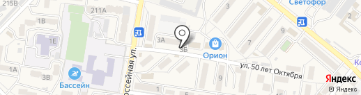 Грация на карте Железноводска
