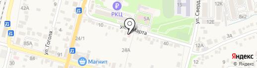 Ваша Аптека на карте Железноводска