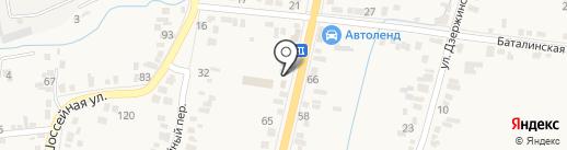 Автомойка №1 на карте Железноводска
