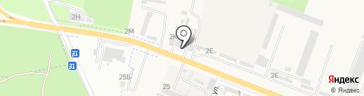 Центр автостекол на карте Железноводска