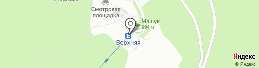 Орлиное гнездо на карте Пятигорска