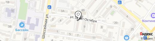 Магазин печатной продукции на карте Железноводска