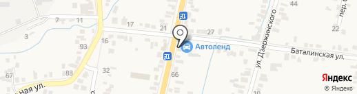 ФармТера на карте Железноводска
