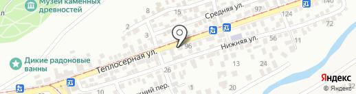Ания-Фарм на карте Пятигорска