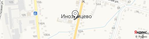 Эдельвейс на карте Железноводска