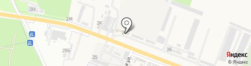Магазин автозапчастей для КАМАЗ на карте Железноводска