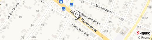 Швейная мастерская на карте Пятигорска