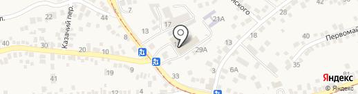 Здравомыслие на карте Горячеводского