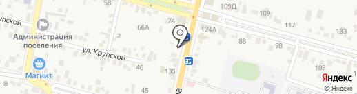 Аида на карте Железноводска