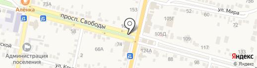 Евросеть на карте Железноводска