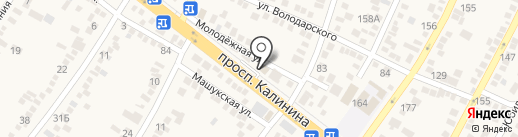 Мясная лавка на карте Пятигорска