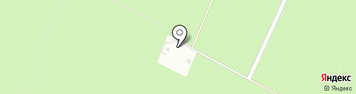 Перкальский питомник на карте Пятигорска