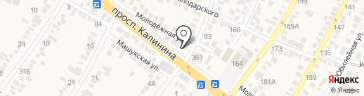 Shosfur на карте Пятигорска
