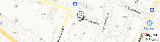 СК-Цитрополимер на карте Горячеводского
