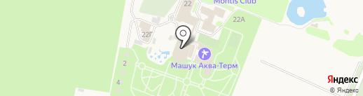 Аква-Терм на карте Железноводска