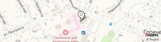 Татьяна на карте Горячеводского